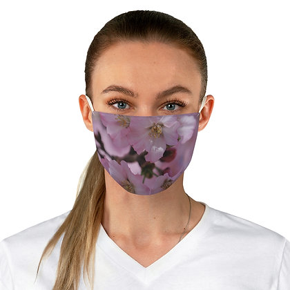 """Very Cherry"" Fabric Face Mask"
