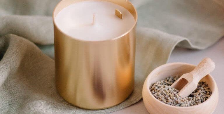 Bougie  Parfumée Lavande  - Maison Shiiba - Boutique décoration Vienne