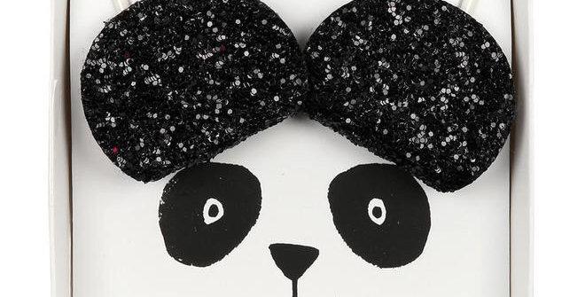 Barrettes oreilles de panda - accessoire petite fille - Meri Meri