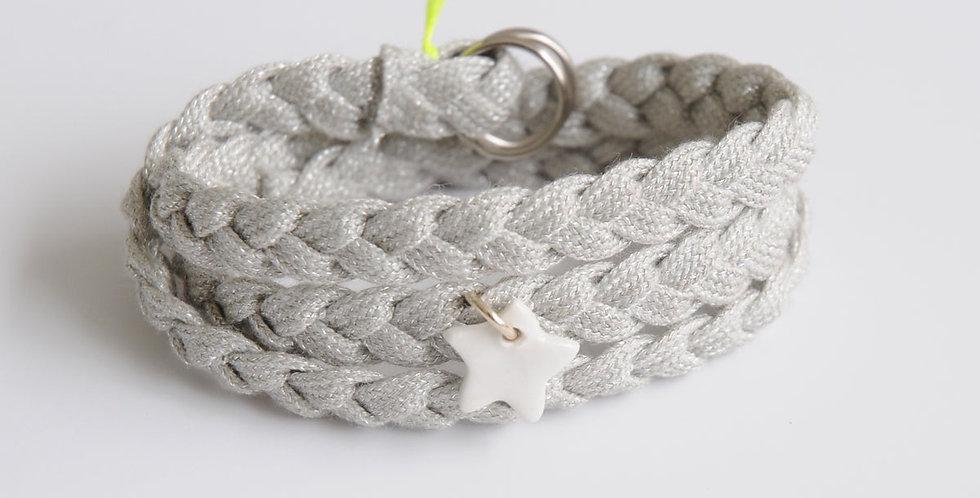 Bracelet Altesse Argent Margote Ceramiste