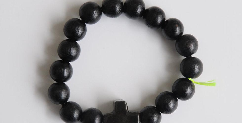 Bracelet Noir Hossegor Margote Céramiste