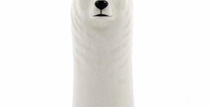 Vase ours polaire Quail céramic
