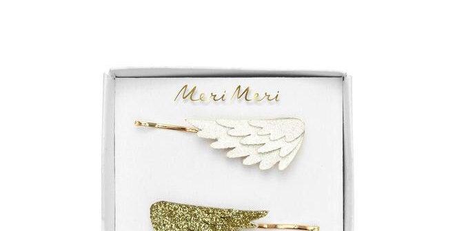 Barrettes ailes  - accessoire petite fille - Meri Meri