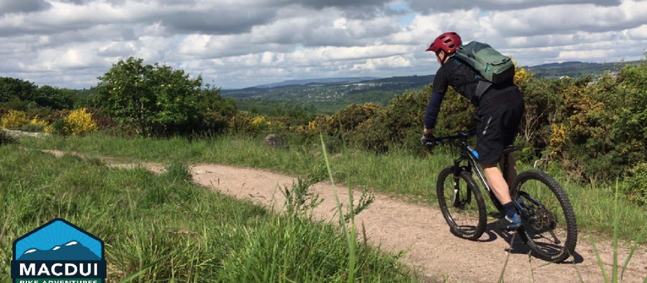 Aberdeen City Rides: Kincorth Nature Reserve to Clochandighter, Brodie Wood and Tollohill.