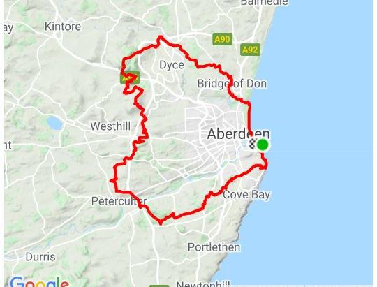 Aberdeen City Rides: Epic Aberdeen Circuit