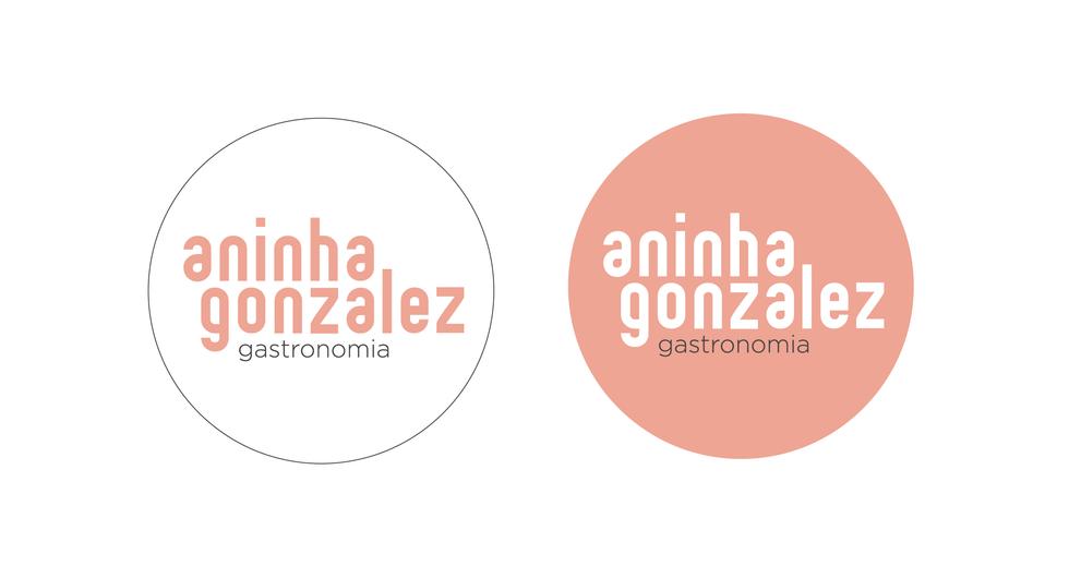 Logotipo redondo para uso em mídia social