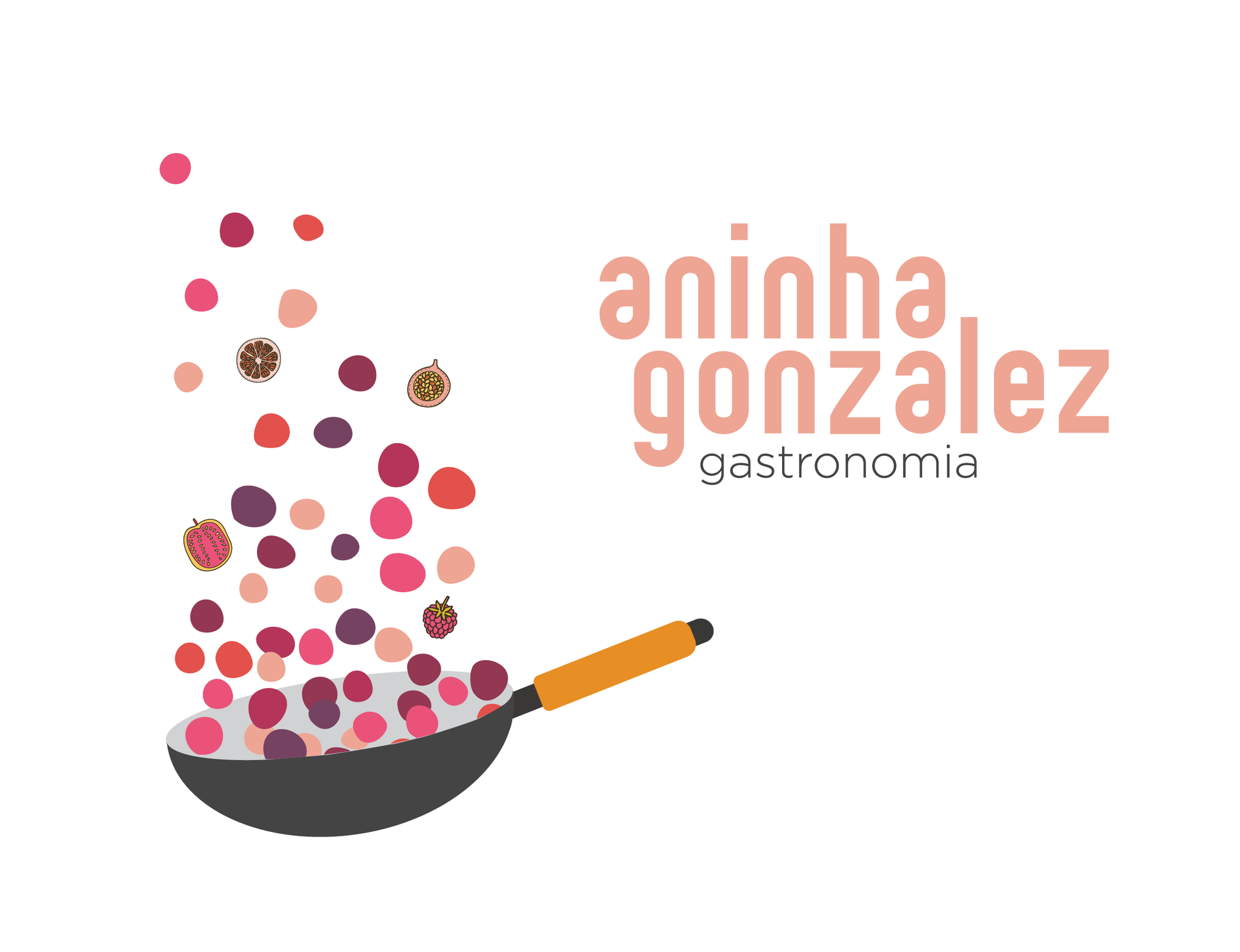 Logotipo Aninha Gonzalez Gastronomia