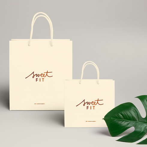 Sacola Sweet Fit - Design gráfico, Absolut Design