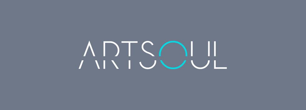Logo ArtSoul - negativo