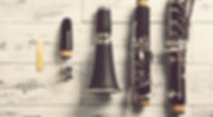 disassembled clarinet