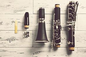 clarinete desmontado