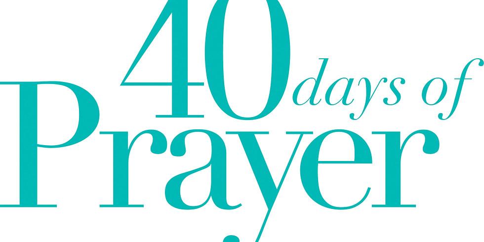 40 Days of Prayer