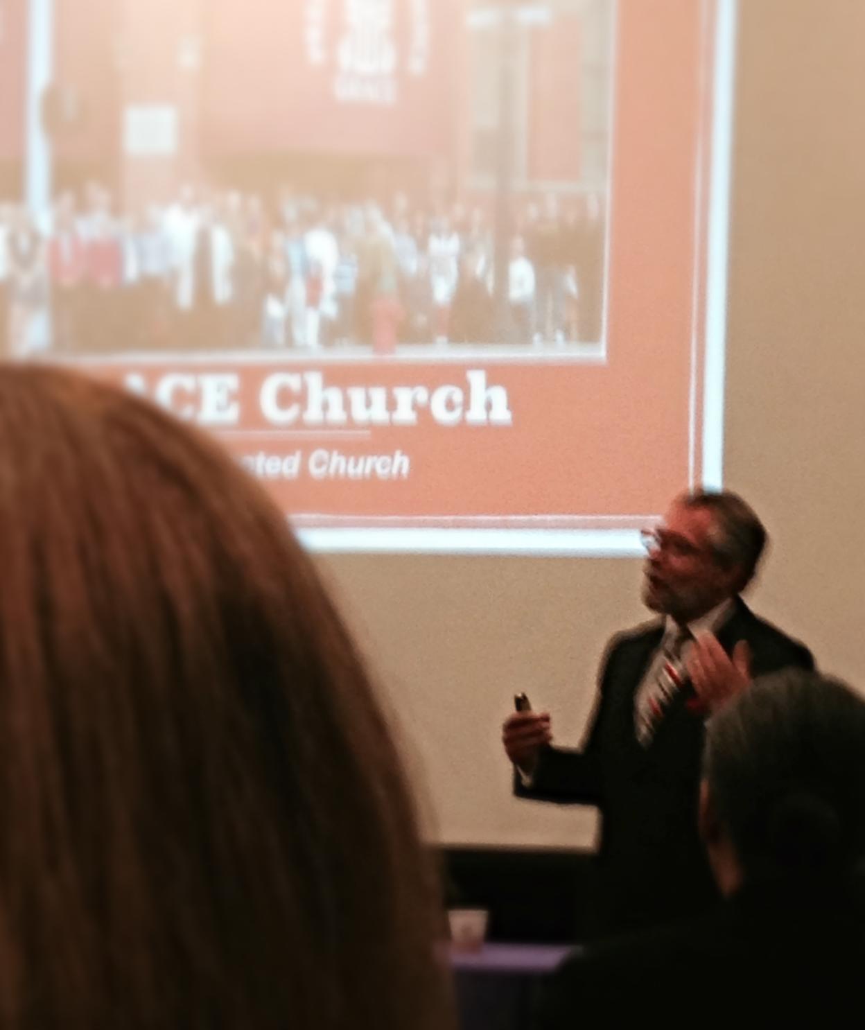 Speaking in New York City