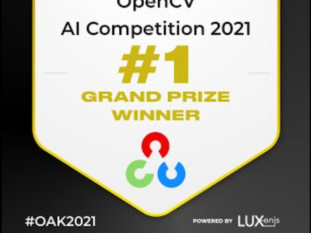 Some Tips from a Grand Prize Winner of the 2021 OpenCV A.I. Competition