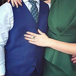 Wedding guest onyx ring