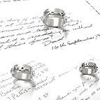 Parent  handwriting ring