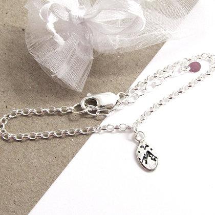 Mountain oval bracelet