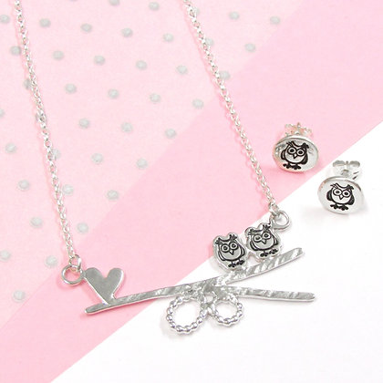 Owl love gift set