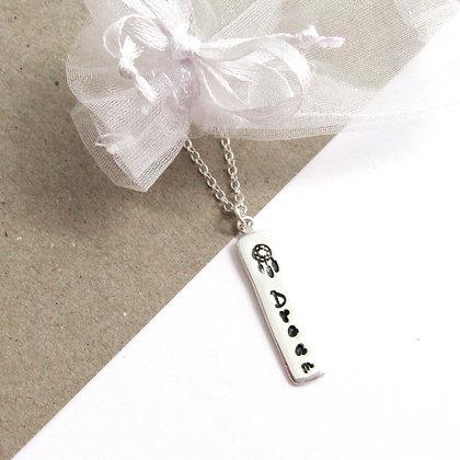 Dream bar necklace
