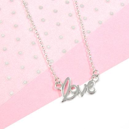 Fancy love necklace