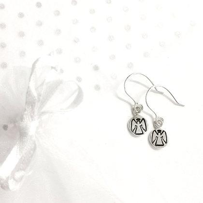 Angel hook earrings