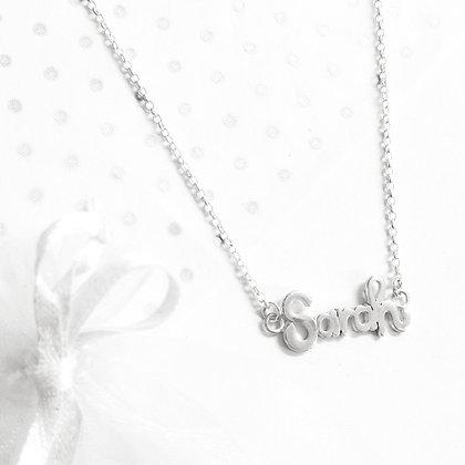 Sarah name necklace