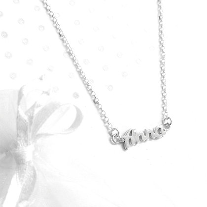 Anna name necklace