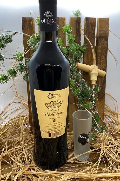 Vin apéritif à la Châtaigne