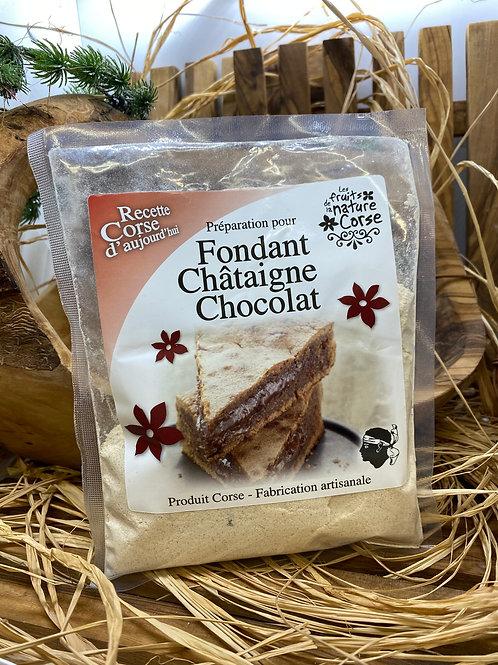 Fondant à la Châtaigne & au Chocolat