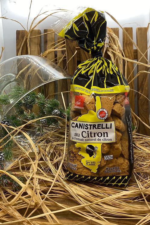 Canistrelli au Citron