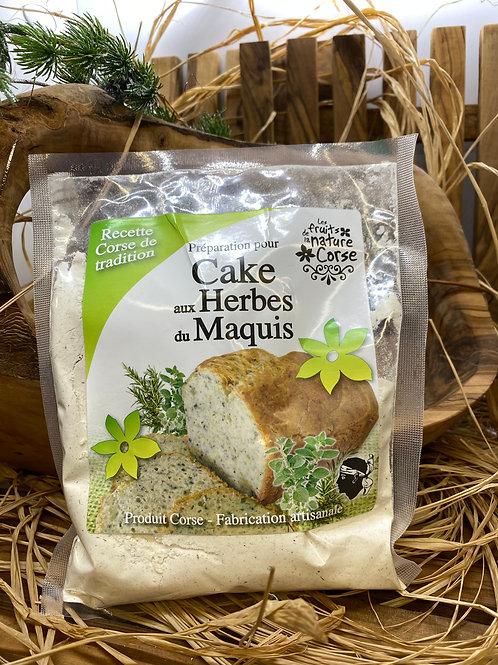 Cake aux Herbes du Maquis