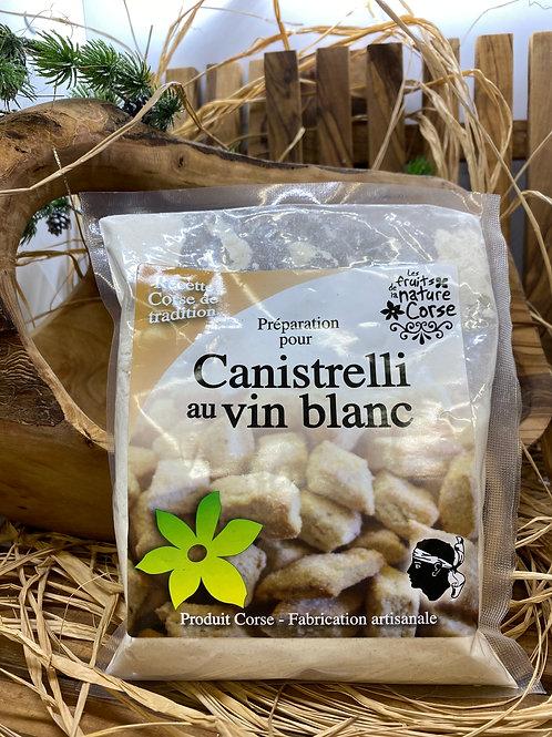 Canistrelli au Vin Blanc