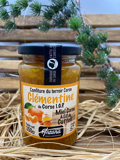 Confiture à la Clémentine & au Miel de Corse