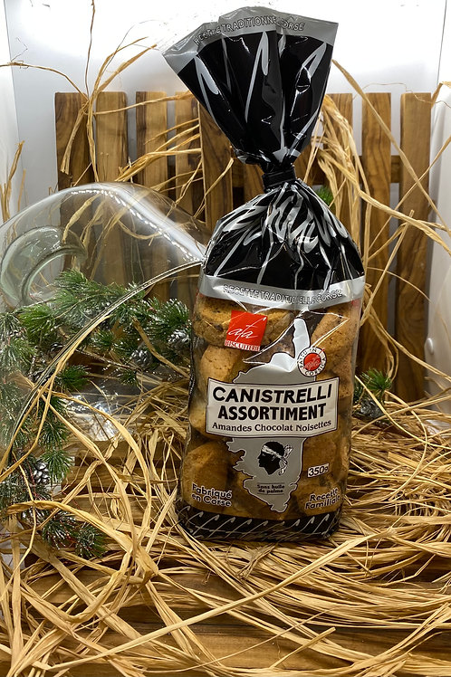 Canistrelli Amandes Chocolat Noisettes