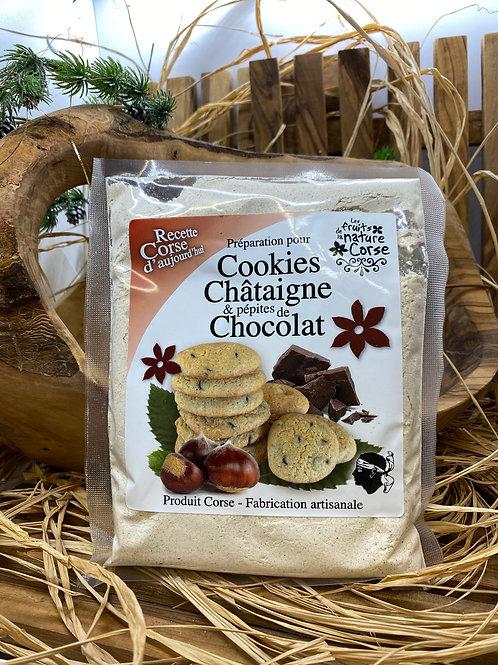 Cookies à la Châtaigne & aux Pépites de Chocolat