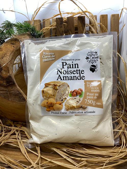 Pain aux Noisettes & Amandes