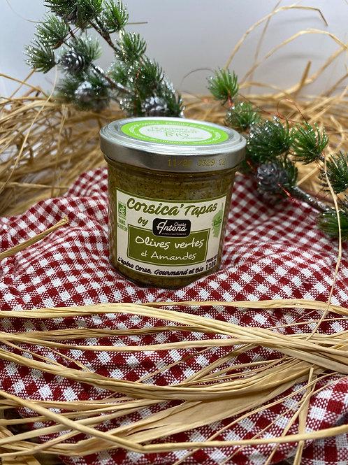 Tapas aux Olives Vertes & Amandes