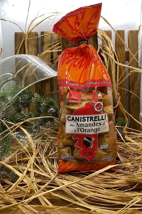 Canistrelli aux Amandes & à l'Orange