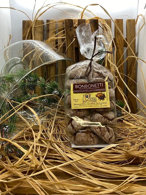 Bonbonetti au Chocolat & Eclats d'Amandes