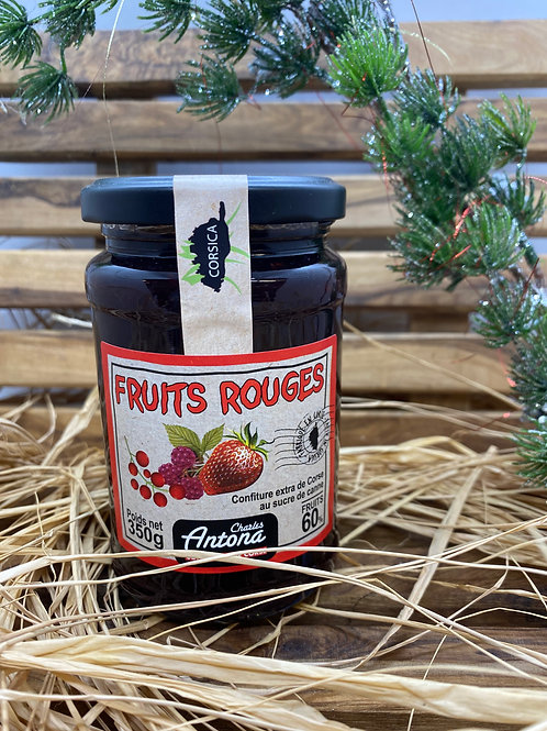 Confiture extra aux Fruits Rouges