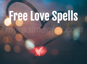 Free Love Spells That Work Fast