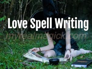 Love Spell Writing
