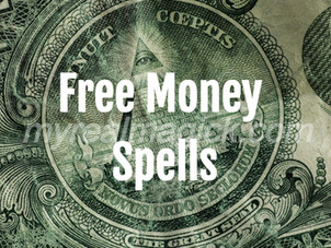 Free money spells that work immediately