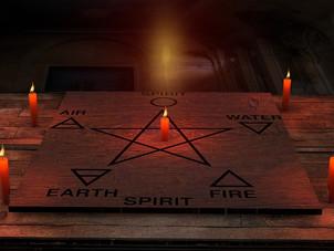 Magick Circle and Altar