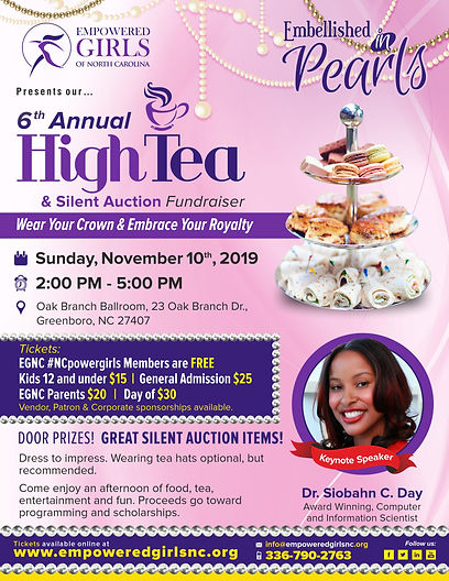 Empowered Girls High Tea flier - 2019.jp
