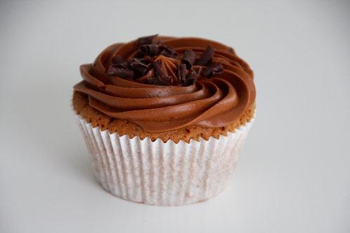 Cupcake chocolade, klein of groot