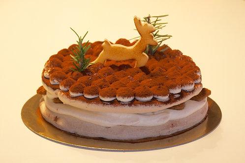 Pavlova speculoos taart
