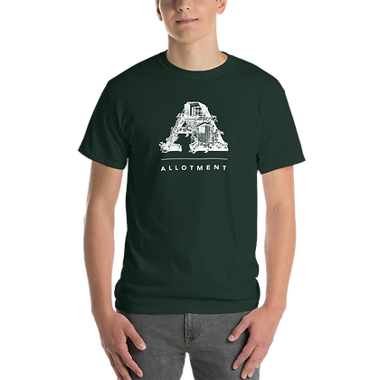 Short Sleeve White logo T-Shirt