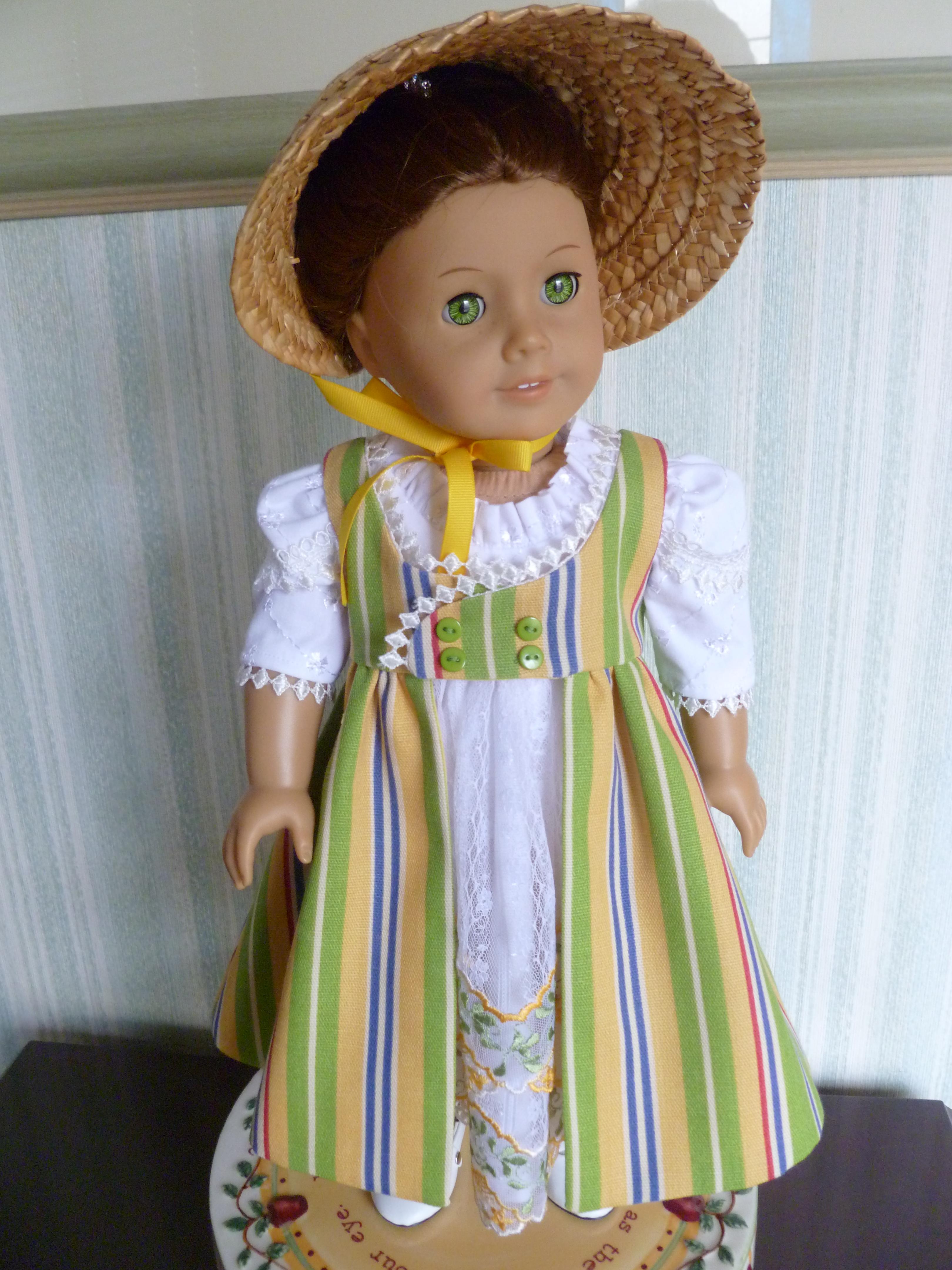 Regency Dress & Pinafore