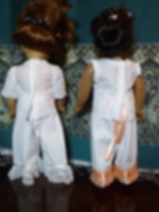 Victorian Underwear & Christmas Apron 01